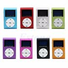Mini Clip USB MP3 Music Player LCD Screen Support 16GB Micro SD TF Card