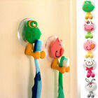 Cartoon Animal Sucker Toothbrush Wall Holder Suction Cup Bathroom Kids Hot Gift