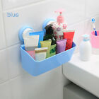 S Kitchen Walling Rack Plastic Storage Holder Suction Cup Wall Shelves Removable