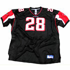 Atlanta Falcons NFL Warrick Dunn 28 Authentic Jersey Black