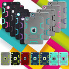 Shockproof Heavy Duty Rubber With Hard Stand Case Cover For iPad Air 1 iPad 4th