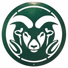 SWEN Products COLORADO STATE RAMS Steel Scenic Art Wall Design