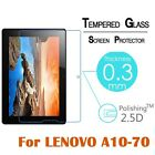 "For Lenovo 10.1"" A10-70/A7600 Tablet 1st Gen Tempered Glass Screen Protector"