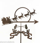 Santa with Sleigh Weathervane - Christmas - with  Choice of Mount