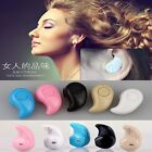 Mini Wireless Bluetooth 4.0 Stereo In-Ear Headset Earphone For iPhone Samsung LG
