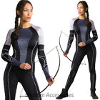 CL750 Katniss Catching Fire Hunger Games Bodfsuit Everdeen Fancy Dress Costume for sale  Shipping to Canada