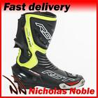 RST TRACTECH EVO 1516 Flo Green CE CERTIFIED SPORTS MOTORCYCLE MOTORBIKE BOOTS