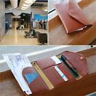 2016 New PU Leather Travel Passport Holder Ticket Cover Wallet Document Bags LA