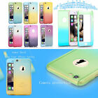 360° Protect Hybrid Tempered Glass Acrylic Hard Case Cover For Cell Phone - New