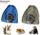ROSEWOOD RABBIT ACTIVITY POP UP BOREDOM BREAKER FABRIC TENT 2 COLOURS 19354