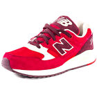 New Balance M530 Mens Synthetic & Mesh Red White Trainers