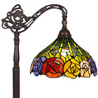 BCP Tiffany Style Roses Reading Floor Lamp Mission Design Table Desk Lighting
