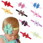 Cute Baby Headband Girls Toddler Flower Bowknot Dots Hair Band Hair Accessories