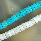 """6mm Turquoise Heishi Beads 15.5"""" Pick Color"""
