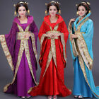 Chinese Traditional Ancient Costume Infanta Dramaturgic Theatrical Play Robe Dre