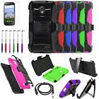 Phone Case For Straight Talk ZTE Stratos Holster Cover USB Charger Film Stylus