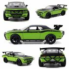 Fast & FURIOUS 7 LETTY'S Dodge Dhallenger SRT8 1:24 Diecast Green JADA 97131