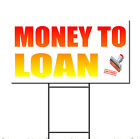 Money To Loan With Approved Icon Corrugated Plastic Yard Sign /FREE Stakes $20.99 USD