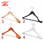 ZNL 20 Pcs Wooden Coat Hangers Suit Trouser Garment Wood Clothes Hanger With Bar