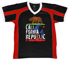 California Bear Grizzly Cali Republic Home State Sunny  Retro Sport T-shirt