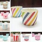 50pc/set Vogue Cake Baking Paper Cup Cupcake Muffin Cases Cups Home Party MSYG