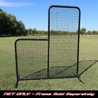 L Screen Baseball Hitting Replacement Net Quality Pillow Case Style #42 NET ONLY
