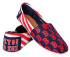 Womens MLB Canvas Slip-On Shoes, Boston Red Sox