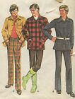 Men Size 48 Jacket Pants Vintage Sewing Pattern McCalls 3442