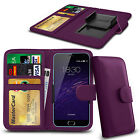 Clip On PU Leather Flip Wallet Book Case Cover For Meizu MX4