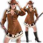 CL842 Annie Oakley Wild West Cowgirl Cowboy Western Buffalo Bill Dress Costume