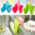 Bathroom Saddle Strainer Double Sink Caddy Storage Sponge Rack Holder Organizer