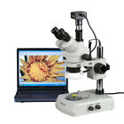 AmScope 3.5X-90X LED Trinocular Zoom Stereo Microscope + 14MP USB3 Digital Camer