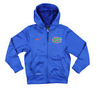 Nike NCAA Youth Florida Gators Performance Full Zip Hoodie Sweater, Blue