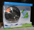 OXYGENICS AWESOME GIANT SIZE DRENCH SHOWER HEAD!! 6 SETTINGS! NEW IN BOX!!
