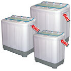 MINI TWIN TUB WASHING MACHINE SPINNER DRYER PORTABLE CARAVANS MOBILE HOMES FLAT