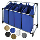 Laundry Bag Sorter SVEN 4 Bin Sections Compartment Washing Clothes Basket Hamper