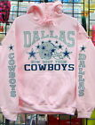 Dallas COWBOYS-  PINK Sweatshirt/HOODIE  S, M, L, XL, 2XL, 3XL, 4XL, 5XL $39.99 USD on eBay