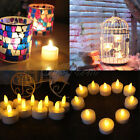 6/10/24PCS Waterproof LED Candle Floating Tea Light Flameless Wedding Decor HOT