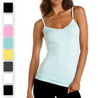 8 Pack: Ambiance Apparel™ Ladies Lycra Tank Top with Adjustable Straps