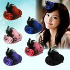 1x Fashion Elegant Mini Top Feather Hat Fascinator Hair Clip Party Costume Nice