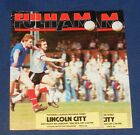 FULHAM HOME PROGRAMMES 1981-1982