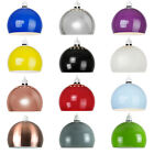 Modern Retro Domed Metal Ceiling Pendant Light Shade Lampshade Easy Fit Sahdes