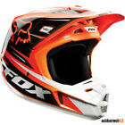FOX V2 Race Helmet orange