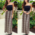 2016 New Boho Womens Summer Chiffon Ladies Party Evning Beach Long Maxi Dress