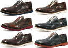 London Brogues Farnham Mens Leather Brogue Shoes ALL SIZES AND COLOURS