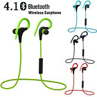 Q10 Sweatproof Sport music Wireless Bluetooth headset 4.1 Stereo for smartphone