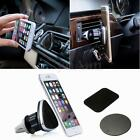 Magnetic Universal 360° Car Air Vent Holder Mount Stand For Mobile Phone GPS New