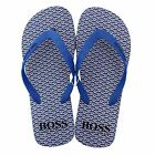 HUGO BOSS LOY MENS BLUE FLIP FLOPS