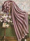 Crochet Pattern ~ Shades of Rose Afghan Mile a Minute ~ Instructions