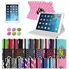 For Apple iPad Air 5 360 Rotating Magnetic PU Leather Case Cover Swivel Stand